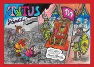 okładka Tytus, Romek i ATomek pomagają księciu Mieszkowi ochrzcić Polskę z wyobraźni Papcia Chmiela narysow, Książka   Henryk Jezry Chmielewski
