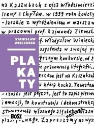 okładka Wieczorek Plakaty, Książka |