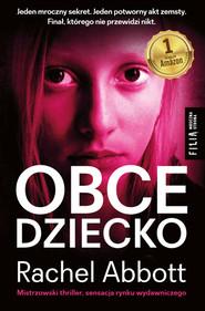 okładka Obce dziecko, Ebook | Rachel Abbott