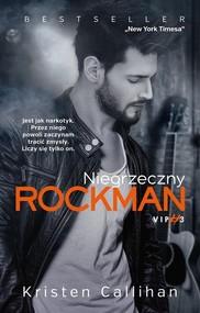 okładka Niegrzeczny rockman, Książka | Kristen  Callihan