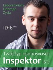 okładka Twój typ osobowości: Inspektor (ISTJ), Ebook | Laboratorium Dobrego Życia (LDŻ)