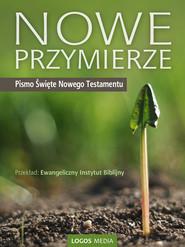 okładka Nowe Przymierze. Pismo Święte Nowego Testamentu. Biblia, Ebook | Ewangeliczny Instytut Biblijny