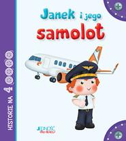 okładka Janek i jego samolot, Książka   Riffaldi Serena