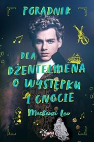 okładka Poradnik dla dżentelmena o występku i cnocie, Książka | Lee Mackenzi