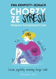 okładka Chorzy ze stresu, Ebook | Ewa Kempisty-Jeznach