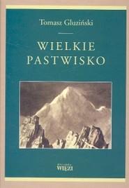 okładka Wielkie pastwisko, Książka | Gluziński Tomasz