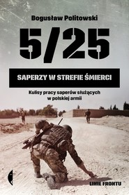 okładka 5/25 Saperzy w strefie śmierci, Książka | Politowski Bogusław