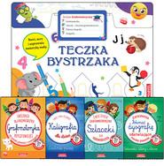 okładka Teczka bystrzaka. Zestaw Grafomotoryczny, Książka | Praca Zbiorowa