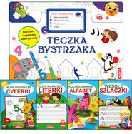 okładka Teczka bystrzaka Zestaw Już piszę i liczę, Książka | Praca Zbiorowa