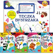 okładka Teczka bystrzaka Zestaw Zostań geniuszem, Książka | Praca Zbiorowa