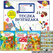 okładka Teczka bystrzaka Zestaw Łamigłówek, Książka | Praca Zbiorowa
