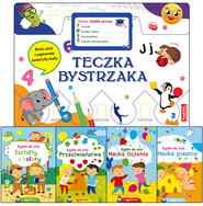 okładka Teczka bystrzaka Zestaw Szybko się uczę, Książka | Praca Zbiorowa