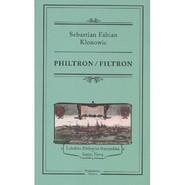 okładka Philtron / Filtron, Książka | Sebastian Fabian Klonowic
