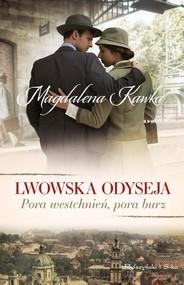 okładka Pora westchnień pora burz, Książka | Magdalena Kawka