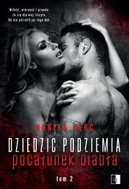 okładka Dziedzic podziemia. , Ebook | Monika Nerc