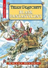 okładka Blask fantastyczny, Książka | Terry Pratchett