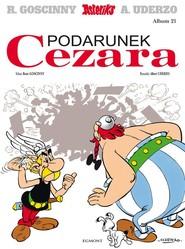okładka Asteriks Podarunek Cezara 21, Książka |