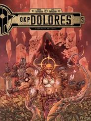 okładka OKP Dolores Tom 3 Czerwony kryształ, Książka |