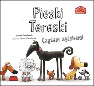 okładka Pieski Tereski. Czytam sylabami, Książka | Joanna  Krzyżanek