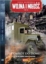 okładka Wojna i Miłość Tom 40 Powrót do domu, Książka | Else Berot Kristiansen