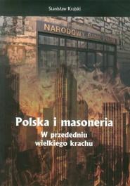 okładka Polska i masoneria w przededniu wielkiego krachu, Książka | Krajski Stanisław