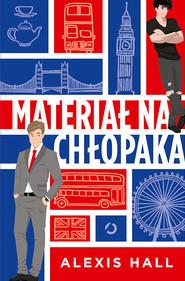 okładka Materiał na chłopaka, Książka | Hall Alexis
