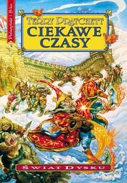okładka Ciekawe czasy, Książka | Terry Pratchett