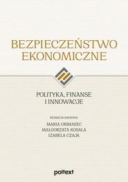 okładka Bezpieczeństwo ekonomiczne Polityka, finanse i innowacje, Książka | Praca Zbiorowa