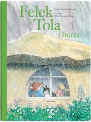 okładka Felek i Tola i burza, Książka | Heede Sylvia Vanden