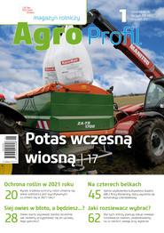 okładka Agro Profil 1/2021, Ebook | praca zbiorowa