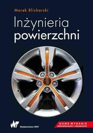 okładka Inżynieria powierzchni, Książka | Marek Blicharski
