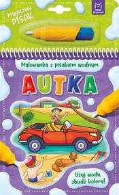okładka Malowanka z pisakiem wodnym Autka, Książka |
