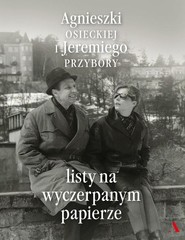 okładka Listy na wyczerpanym papierze, Książka | Agnieszka Osiecka, Jeremi Przybora