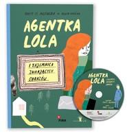 okładka Agentka Lola i tajemnica znikających obrazów, Książka | Marta H. Milewska
