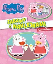 okładka Peppa Pig. Zabawy z naklejkami. Pyszności Peppy., Książka | Opracowanie zbiorowe