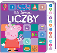 okładka Peppa Pig. Moje pierwsze… Liczby, Książka | Opracowanie zbiorowe