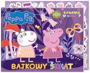 okładka Peppa Pig. Zabawa w kolory. Bajkowe kolory., Książka | Opracowanie zbiorowe