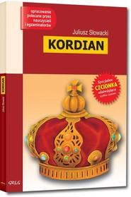 okładka Kordian Wydanie z opracowaniem, Książka | Juliusz Słowacki