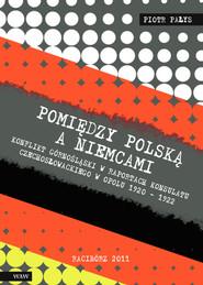 okładka Pomiędzy Polską a Niemcami Konflikt Górnośląski w raportach konsulatu czechosłowackiego w Opolu 1920-1922, Książka   Pałys Piotr