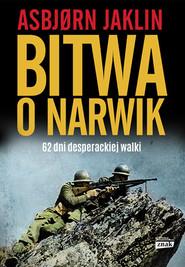 okładka Bitwa o Narwik, Książka | Jaklin Asbjorn