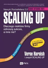 okładka Scaling Up Dlaczego niektóre firmy odnoszą sukces, a inne nie?, Książka | Harnish Verne