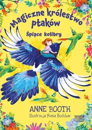 okładka Magiczne królestwo ptaków Śpiące kolibry, Książka | Booth Anne