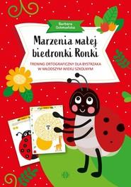 okładka Marzenia małej biedronki Ronki, Książka | Ochmańska Barbara