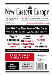 okładka Nowa Europa Wschodnia 4//2012, Ebook | Adam Reichardt