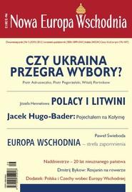 okładka Nowa Europa Wschodnia 5/2012, Ebook   zespół autorów