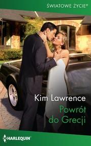okładka Powrót do Grecji, Ebook | Kim Lawrence