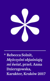 okładka Mężczyźni objaśniają mi świat, Ebook | Rebecca Solnit