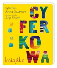 okładka Cyferkowa książka, Książka | Anna Salamon, Alicja Krzanik