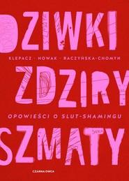 okładka Dziwki, zdziry, szmaty Opowieści o slut-shamingu, Książka | Paulina Klepacz, Aleksandra Nowak, Kamila Raczyńska-Chomyn