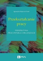 okładka Przekształcanie pracy Perspektywa pracownika i organizacji, Książka | Wojtczuk-Turek Agnieszka